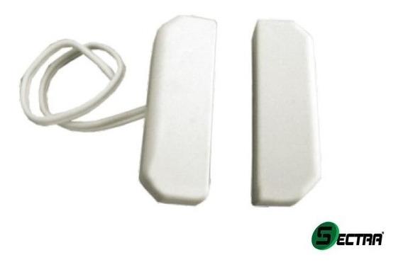 Kit 2 Sensor Magnetico Com Fio P/ Porta De Aço - Alarme