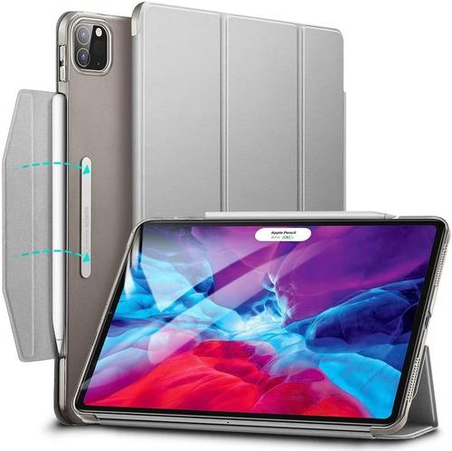 Imagem 1 de 9 de Capa Capinha iPad Pro 12.9 2018 Esr Trifold C/suporte Caneta
