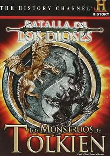 Batalla De Los Dioses Monstruos De Tolkien Documental Dvd