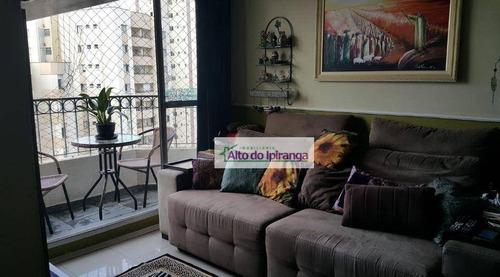 Apartamento À Venda, 73 M² Por R$ 520.000,00 - Vila Gumercindo - São Paulo/sp - Ap4553