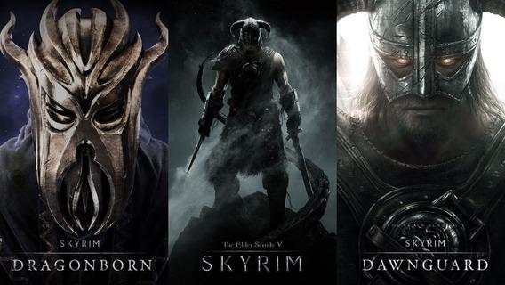 Skyrim Ps3 Psn Dlcs Dragonborn Dawnguard E Heartfire Código