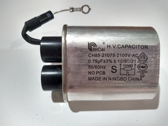 Capacitor Bicai 0.75uf Para Microondas