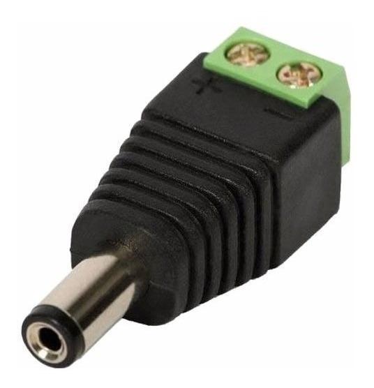 Kit 100 Conector Bnc Com Mola Oferta
