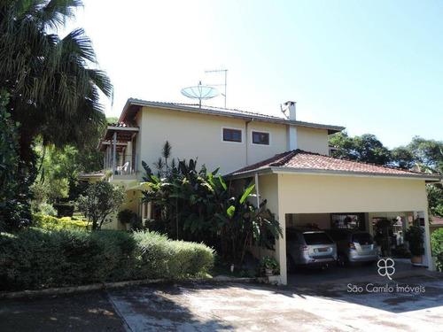 Casa Com 3 Dormitórios À Venda, 603 M² Por R$ 1.850.000,00 - Granja Viana - Cotia/sp - Ca1052