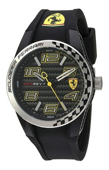 Ferrari - Reloj Cuarzo Hombre Negro Modelo 830337