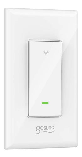 Gosund Apagador Inteligente Smart Switch Alexa Google 2.4ghz