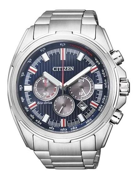 Relógio Citizen Masculino Tz30893f Eco-drive Solar Prateado