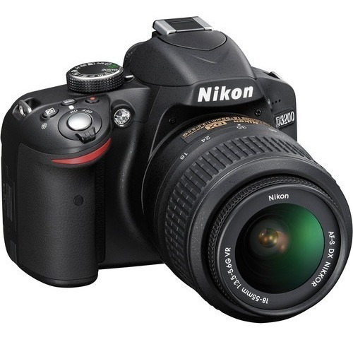 Camara Nikon D3200 + 18-55mm Gii Vr 3737 Disparos = A Nueva