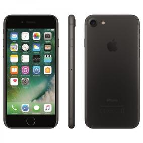 iPhone 7 Preto Matte Tela 4,7 4g 32 Gb Câm 12 Mp Novo Lacrad