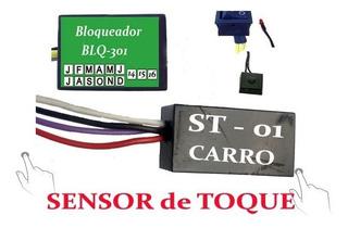 Bloqueador Veicular Automotivo Antifurto Sensor Toque Br Car