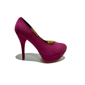 63296e4096 Remato Zapatos Tacon Wedge Color Bugambilia Rosa No. 4.5. Estado De México  · Zapatillas Color Bugambilia De Tacón Alto Y Plataforma