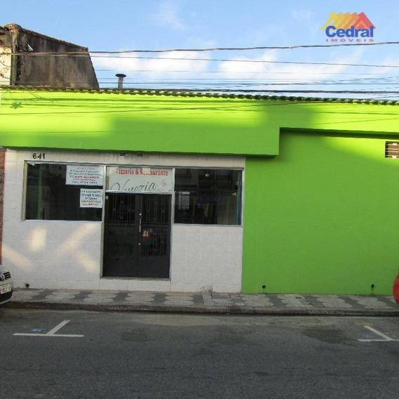 Ponto Para Alugar, 1347 M² Por R$ 3.000,00/mês - Centro - Mogi Das Cruzes/sp - Pt0010