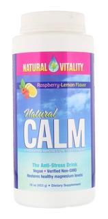 Natural Vitality Natural Calm Frambuesa Limón 453g