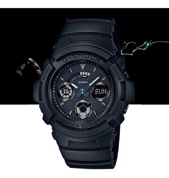 Relógio Casio G-shock Masculino Ana Dig Aw-591bb-1adr Preto