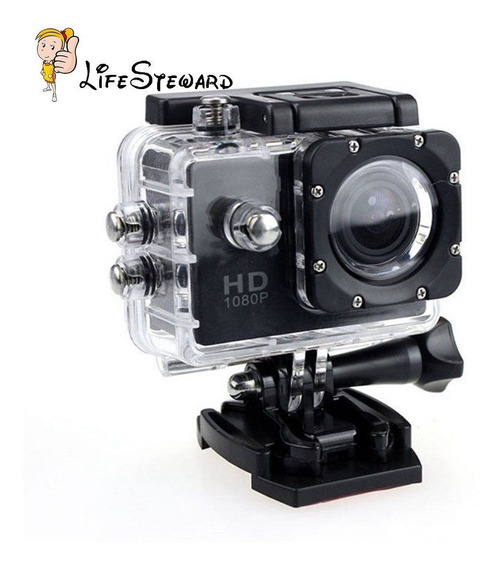 Action Cam Go Sports Pro Full Hd 1080p + Suporte