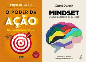 Livro Mindset + O Poder Da Ação