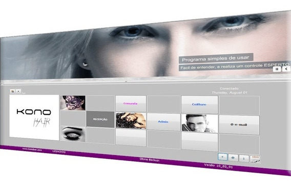 Kono Hair Software Salão De Beleza, Estética, Saúde. Plano 8