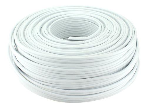 Cable Dúplex Eléctrico 2x14 Rollo 100 Metros Awg