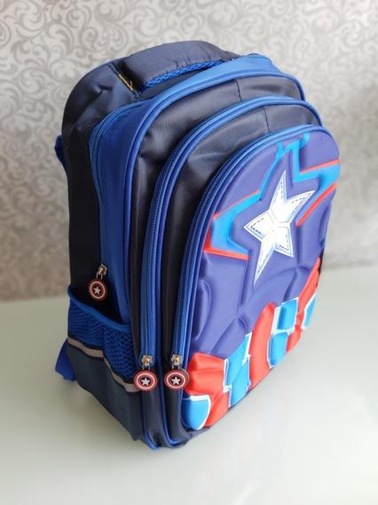Mochila 3d Capitão América