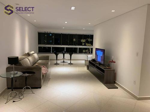 Imagem 1 de 30 de Apartamento Com 3 Dormitórios À Venda, 150 M² Por R$ 1.250.000,00 - Jardim Do Mar - São Bernardo Do Campo/sp - Ap0534