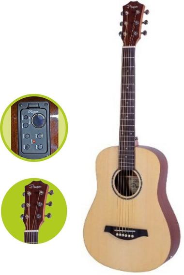 Guitarra Electroacústica De Viaje Tipo Taylor