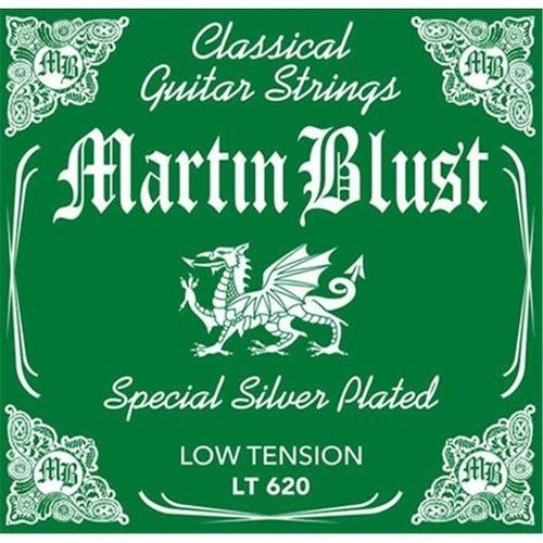 Imagen 1 de 6 de Cuerdas Criolla Martin Blust Baja Tension Plateadas