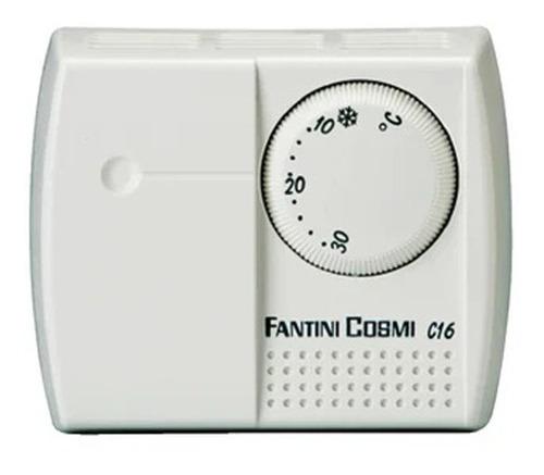 Termostato Mecánico De Ambiente Fantini Cosmi C16 On/off