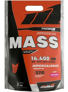Hipercalórico Premium Mass 14400 3w - 3kg - New Millen