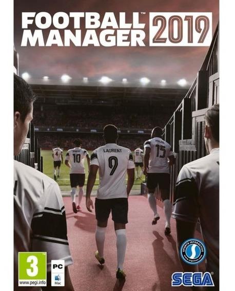 Football Manager 2019 Pc + Qualquer Jogo A Sua Escolha