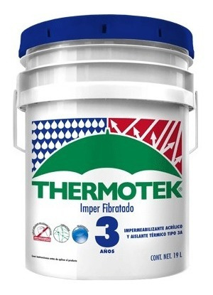 Impermeabilizante Thermotek Imper Fibratado