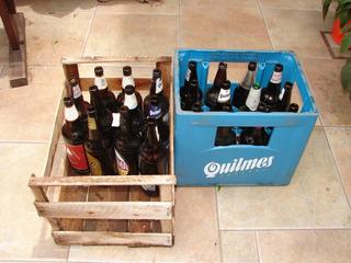 Botellas Vacías De Cerveza De 1 Litro Sin Cajón