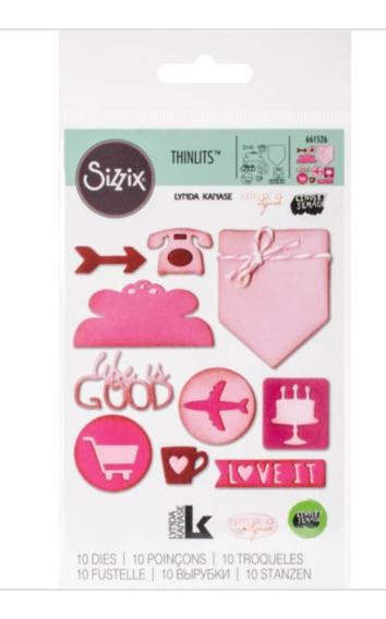 Sizzix Iconos De La Pagina Planificador
