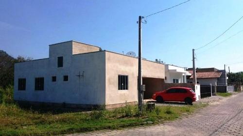 Casa No Bairro Guabiruba Sul, Contendo 3 Dormitórios E Demais Dependências. - 3576116v