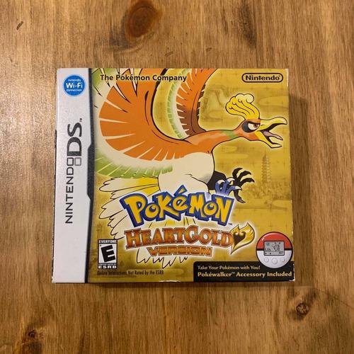 Imagen 1 de 4 de Pokemon Hearthgold Sellado Fisico Nintendo Ds Dsi 3ds Unico