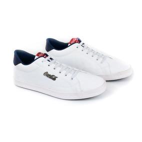 E Tenis Masc United Easy Branco Cc1558_50 Coca-cola 20851