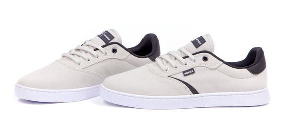 Tênis Hocks Trip Ice Grey (bege/ Preto)