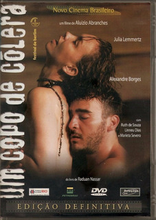 Dvd Original Do Filme Um Copo De Cólera ( Julia Lemertz)