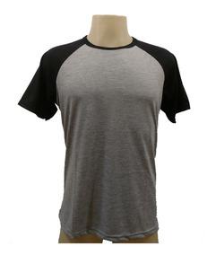 20 Camisetas Raglan Cores Blusa Poliéster Sublimação Atacado
