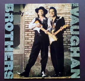 Lp: The Vaughan Brothers, Family Style, 1990
