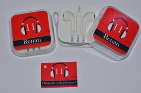 10 Fones De Ouvido Personalizado
