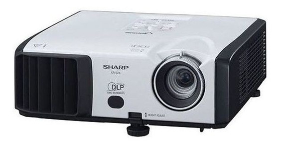 Projetor Sharp Vision Xr-32x-l Vga Dvi 2600 Lumens - Usado