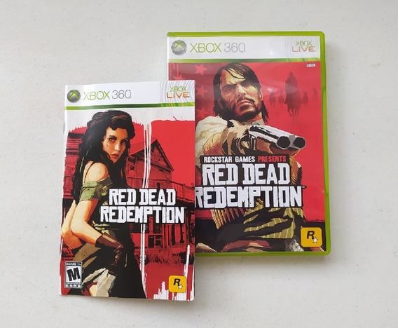 Jogo Red Dead Redemption - Xbox 360 - Mídia Física - Usado