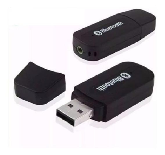 Receptor Transmissor Bluetooth Adaptador + Cabo Rca + Cabeça