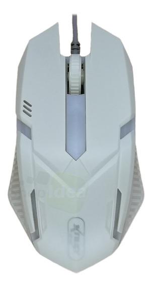 Mouse Gamer Optico Usb 2.0 1600dpi Led Iluminado Ergonomico