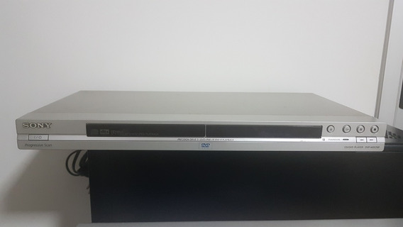 Dvd/cd Player Dvp-ns575p Sony C/varredura Progressiva- Prata
