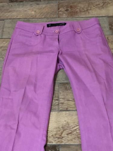 Pantalones 3 ( Tres Pantalones) Gabardina Talle M
