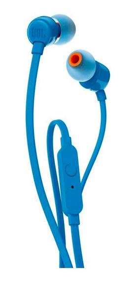 Auriculares In Ear Jbl T110 Blue