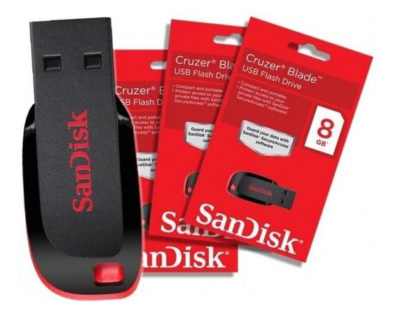 Pendrive Original Sandisk 16gb Novo