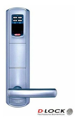 Fechadura Biométrica D-lock  Prata - Dl2000_d
