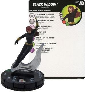 Heroclix - Black Widow #026 - Avengers/defenders - Marvel